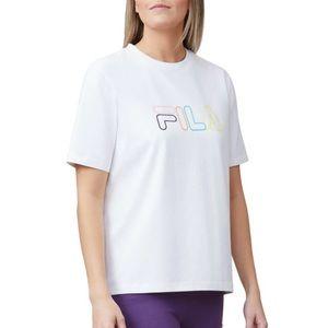 FILA Logo Short Sleeve Tee Top White